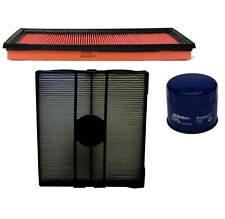 Engine Oil & Air Paper Cabin Filter Kit ACDelco Pro For Subaru Forester 2.5L H4