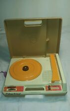Vintage 1978 Fisher-Price Portable Turntable Record Player #825 - 33 & 45 RPM