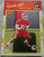 2016 Donruss Optic Rookies Tyreek Hill #117 Rookie Card RC Kansas City Chiefs !!