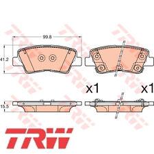 TRW Bremsbelagsatz Bremsbeläge Bremsklötze 24934 25337 25338 GDB3594
