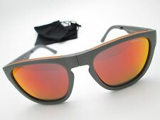 • Armani Exchange • AX 4102 Classic Folding Sunglasses Gray / Orange -Fast Ship