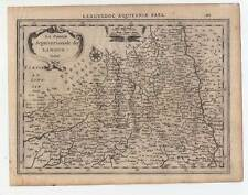 Languedoc-Francia-FRANCE-mappa - MAP-Mercator-kaerius 1632