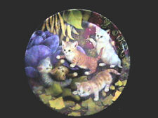 BRADFORD EXCHANGE Kitten Expeditions, KITTY PLATE #3