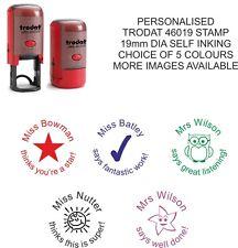 personalised teacher school stamp 46019 reward merit end of term thanks present