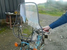 PUCH MAXI WIND SHIELD PERSPEX SCREEN KIT UNIVERSAL MOPED? BREARLEY SMITH NEW
