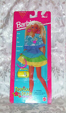 MATTEL BARBIE FASHION TROPICAL SPLASH CLOTHES FASHION SET 1996 NIP MOC #68314