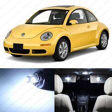 5 x Xenon White LED Interior Light Package For 1998 - 2011 Volkswagen VW Beetle