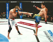 Lyoto Machida & Dan Henderson UFC 157 8x10 Photo Picture Poster The Dragon Kick