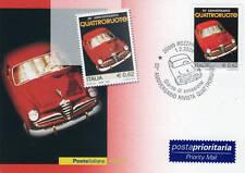 cartolina filatelica quattroruote 2005