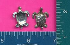 100 wholesale pewter tortoise figurines m11075