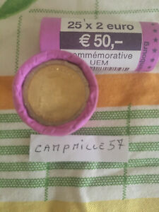 1rouleau 2 euro commemorative luxembourg 2009