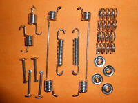 2000-2006 with ABS REAR BRAKE SHOE FIXING KIT-GBK1056 VAUXHALL OPEL CORSA