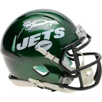 SAM DARNOLD Autographed New York Jets Authentic Speed Mini Helmet FANATICS