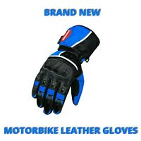 Heavy Duty Motorcycle Racing Gloves Cowhide Leather Waterproof Winter CE Armour
