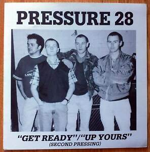 "Pressure 28 – Get Ready 7"" Helen Of Oi! Punk Skinhead 1993 Cock Sparrer 4Skins"