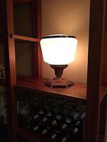 MCM TABLE LAMP Mid Century Modern Lamp BEAUTIFUL STATEMENT PIECE