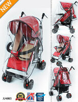 Universal NEW Buggy Pushchair Stroller Pram Transparent Rain Cover Baby AS003