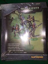Rare - New Shrink-wrapped Warhammer 40K Dark Eldar Scourges - 5 Metal Models