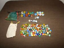 VINTAGE TOY  MIXED LOT OF 120  OLD MARBLES