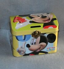 Disney Mickey Mouse Clubhouse Coin Bank Money Bank Tin Minnie Mouse