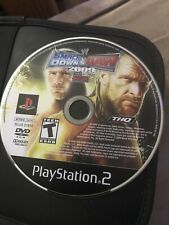 WWE SMACKDOWN VS RAW 2009 ft ECW Sony PS2 Wrestling Video Game Disc Only