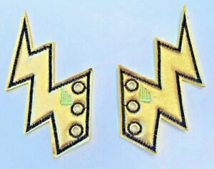 Shwings Gold Foil Lightning Bolt Shoe Lace Accessories