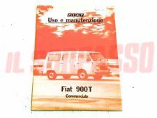 LIBRETTO USO E MANUTENZIONE FIAT 900 T PULMINO ORIGINALE