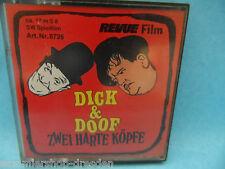 23856 Revue Film: Super 8, Dick & Doof Zwei harte Köpfe Laurel & Hardy S 8 17 m