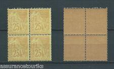 FRANCE COLONIES - 1881 YT 53 bloc de 4 - TIMBRES NEUFS** LUXE - COTE 80,00 €