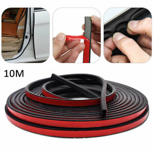 10M Practical Rubber Car Self-Adhesive Seal Strip Auto Door Weartherstrip Hollow