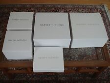 Five Brand New Harvey Nichols Knightsbridge White Gift Boxes Magnet Closure