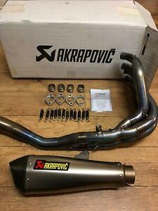 Kawasaki ZX6R 636 09-16 Full Titanium Exhaust AKRAPOVIC