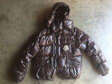 Moncler K2 Down Puffer Jacket Parka sz 6 XXL Brown Maya