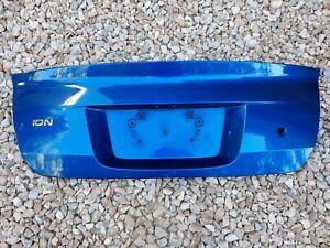 03 04 05 06 07 Saturn Ion Trunk Lid Rear Trim Door Sedan 885K