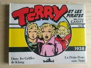 Terry And The Pirates Milton Characters Vol. 5 1938 Cube 1988