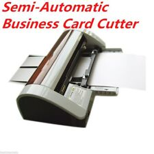 Hot-sale Semi-Automatic Business Card Cutter 90 x 50mm AC220V Right Angle