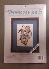 """Weekenders Counted Cross Stitch Kit """"Sleepy Time"""" Hummel.  NIP"""