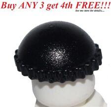 ☀️NEW Lego City Minifig BLACK KNIT CAP Thief Beanie Minifigure Hat bandit