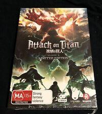 Attack on Titan: Season 2 (Limited Collector's Edition)  - DVD - NEW Region 4