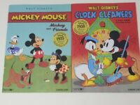 Disney Vintage Collection:Mickey Mouse Clock Cleaners & Mickey & Friends Books