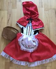 Little Red Riding Hood Deluxe Costume Dress Up Halloween Age 5/6 Years