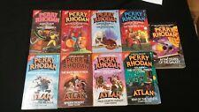 PERRY RHODAN Lot  9 pbs 111-118 + 5 ALTAN books + Center of the Galaxy