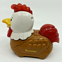 VTech Go Go Smart Animals ROOSTER Smart Wheels Farm Animal Replacement Toy EUC