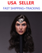 *BACKORDER*CUSTOM 1/6 Gal Gadot Female Head for Wonder Woman SUPERHERO Phicen
