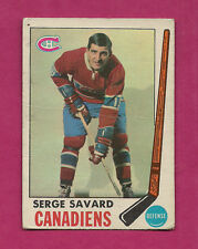 1969-70 OPC # 4 CANADIENS SERGE SAVARD  ROOKIE  CARD