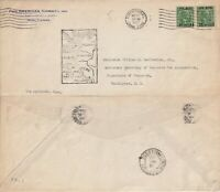 US 1929 PAN AM FAM 9 FIRST FLIGHT COVER CRISTOBAL CANAL ZONE TO MOLLENDO PERU