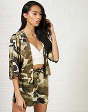 Hearts & Bows Jolie Camo Jacket & Shorts 10 Camouflage BNWT RRP £36 Uk Freepost