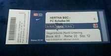 Eintrittskarte Ticket Hertha BSC  - FC Schalke 04 2013/14