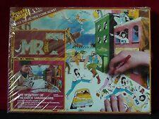"""Mr. T """"Dock Smugglers"""" Vintage A-Team 1984 Presto Magix Sealed 16""""x24"""" Super Set"""