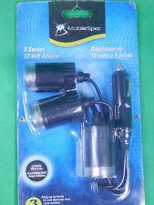 MOBILESPEC® MS211BL MOBILESPEC 12V 3-WAY Fluorescent GLOW POWER ADAPTER